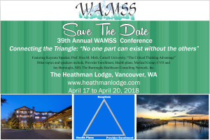 WAMSS Save The Date 2018 with Speakers and Triangle