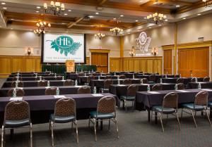 The Heathman Lewis & Clark Ballroom Classroom Set Up